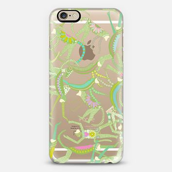 spring monkey transparent iPhone 6s case by Sharon Turner   Casetify