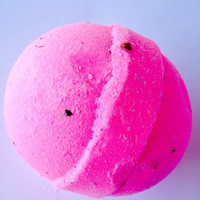 RoseBud Bath Bomb/Top Selling Scent/5 oz. Bath Bomb/Soapie Shoppe/ Cheaper than Lush
