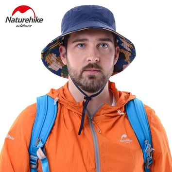 Naturehike anti-UV hats men and women caps outdoor running cycling camping fishing hat breathable dicer chapeau