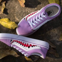VANS x BAPE Canvas Old Skool Flats Sneakers Sport Shoes