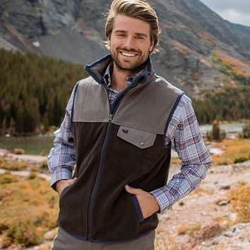 FieldTec™ Snap Fleece Vest by Southern Marsh