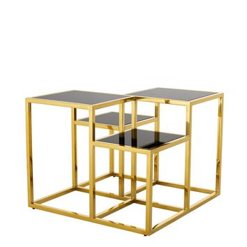 Gold Multi Level Side Table | Eichholtz Smythson