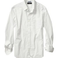 Banana Republic Mens Factory Soft Wash Ant Print Shirt