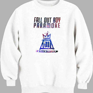 Fall out boy paramore galaxy Sweater for Mens Sweater and Womens Sweater *