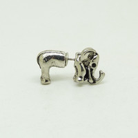 Elephant Stud Earrings New Fashion Animal Statement Eearrings for Women girls vintage designer Cute Accessories