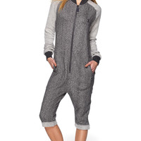 Chill College Onesuit Dark Grey Melange