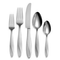 Oneida® Simmer 65-Piece Stainless Steel Flatware Set