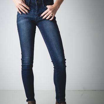 Grace Dark Wash Kan Can Skinny Jeans