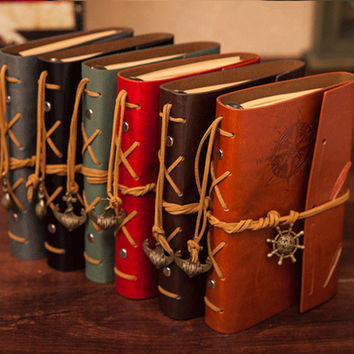 Blank Book Journal Leather