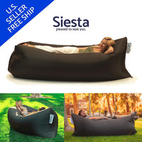 Inflatable Outdoor Hangout Lounge Bag Chair by HelloSiesta Lamzac LayBag KAISR