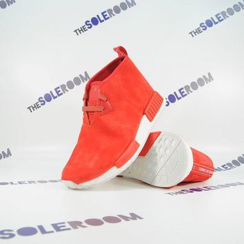 Adidas NMD C1 Chukka Lush Red S79147 Us 9.5-11 Suede Men Nomad Shoes Sneakers