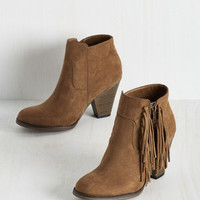 Boho Tassel of My Eye Bootie