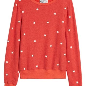 Wildfox Star Baggy Beach Pullover | Nordstrom