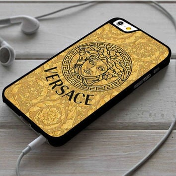 Versace Gold Logo Triforce iPhone 6|6 Plus Case Dollarscase.com