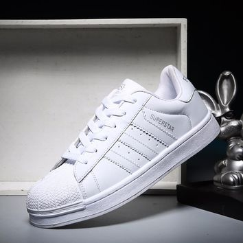 2018 Classic Inspired addidas Superstar Sneakers Canvas Shoes