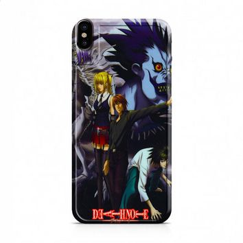 Death Note Anime Cover iPhone X case