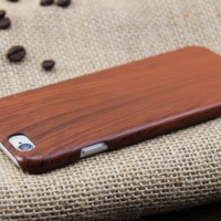 New Style PC Imitation Wood  Iphone Protective Case