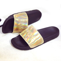 Lotus Jolly Bling Summer Slides Womens Leather Sandals 2017