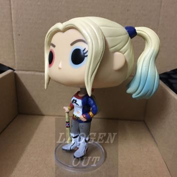 10cm New Funko Pop! Heroes Suicide Squad: Harley Quinn Vinly Figure #97