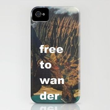 Free To Wander iPhone Case by Romi Vega | Society6
