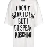 Moschino Short Sleeve t Shirt - Moschino Tops Tees Women - thecorner.com