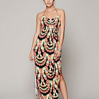 Mara Hoffman Womens Garlands V-wire Maxi - Black Combo,