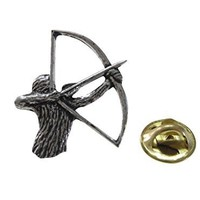 Archery Lapel Pin [Jewelry]