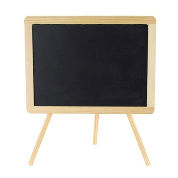 Chalkboard Wood Easel Sign, Rectangular, 10-Inch