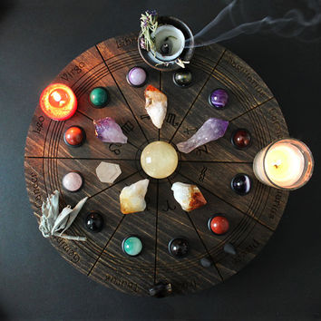 Astrology Altar Wheel