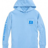 KIDS CATCH FLAGS LONG SLEEVE HOODIE T-SHIRTStyle: 2672