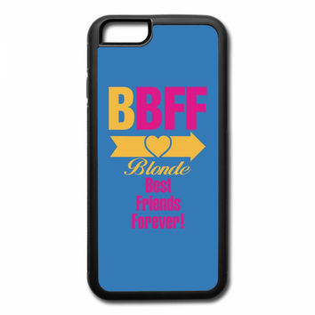 blonde best friend forever right arrow iPhone 7 Case