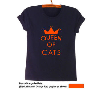 Cat T Shirts for Women Mens Funny Kitten Gifts Hipster Tumblr Teens Sayings Best friend Fangirls Fashion Blogger Cute Swag Nope Twitter