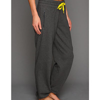 adidas Boyfriend 7/8 Live-In Pant Dark Grey Heather/Black - Zappos.com Free Shipping BOTH Ways