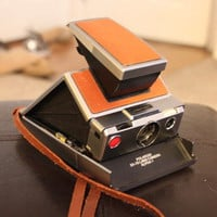 Polaroid SX-70 Alpha Instant Folding Camera