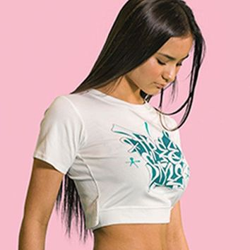 Freestyle Open Back Crop Top