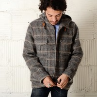 JOINERY - Checked Parka by Melinda Gloss - MEN