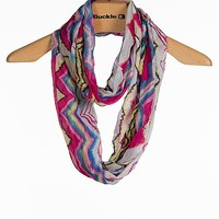 D & Y Abstract Print Scarf