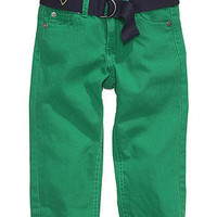 GUESS Baby Pants, Baby Boys Belted Jeans - Kids Baby Boy (0-24 months) - Macy's