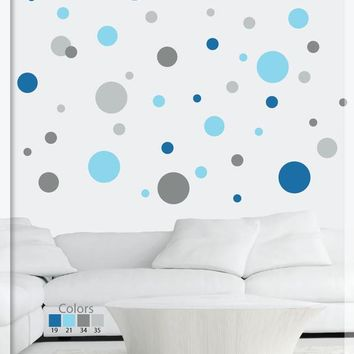 Polka dot wall decals - Polka dot stickers - Polka Dots - Wall decals nursery