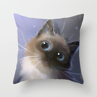 Peper Throw Pillow by Rihards Donskis | Society6