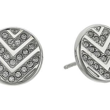 Fossil Chevron Glitz Studs Earrings