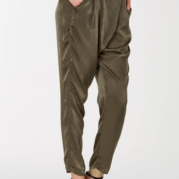 Wrap Up Satin Pants