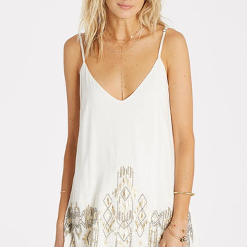 Billabong - Shine On Slip Dress | White Cap