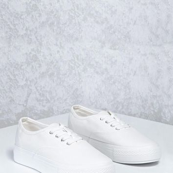 Low-Top Canvas Sneakers
