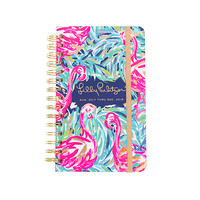 Lilly Pulitzer 2017-2018 MEDIUM AGENDA - FLAMENCO BEACH