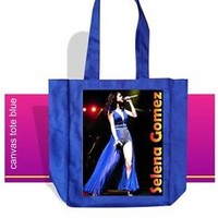 SELENA GOMEZ TOTE BAG - AMERICAN ACTRESS, SINGER, SONGWRITER, DANCER -  PHOTO