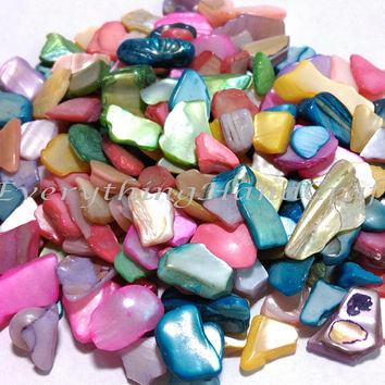 Mosaic tiles | Mosaic art | Decorative mosaic | tiles art | Glass mosaic | Mother of Pearl | Mixed Color 100g  #63