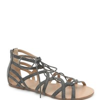 LA Hearts Multi Strap Lace Up Gladiator Sandals - Womens Shoes - B