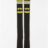 Batman Thigh High Socks Black and Yellow - DC Comics - Spencer's