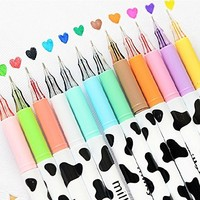 Multi Colors Colorful Gel Pen Sweet style